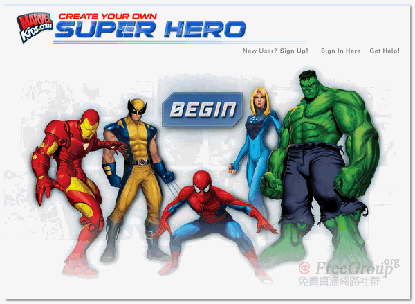 Create Your Own Super Hero